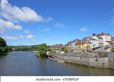 Cardigan town, Wales