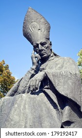 Cardinal Wyszynski statue, Poland