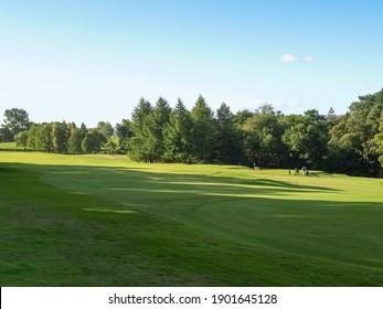 CARDROSS, UK - CIRCA SEPTEMBER 2010: Cardross golf course
