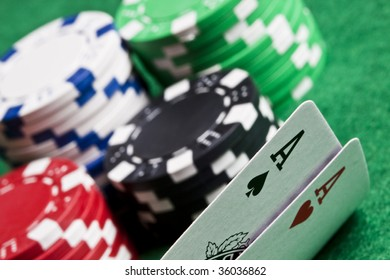 Cards, cash and Gambling