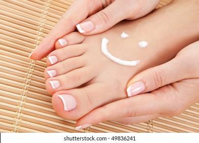 care for beautiful woman skin