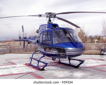 care flight helicopter