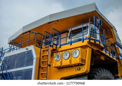 Career heavy dump truck Belaz. Belarus Zhodino