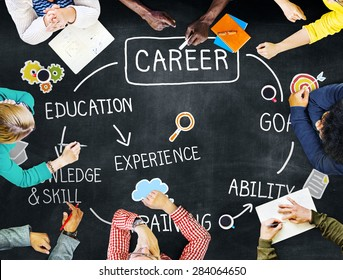Career Job Goal Expertise Skill Talent Concept
