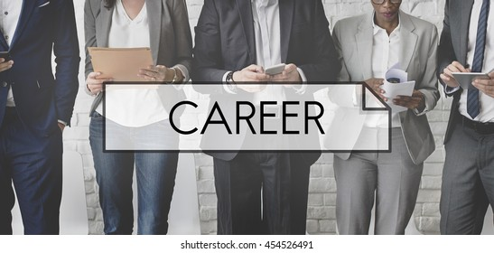 Career Job Occupation Professional Recruitment Concept