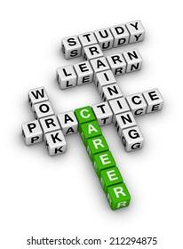 career steps crossword puzzle