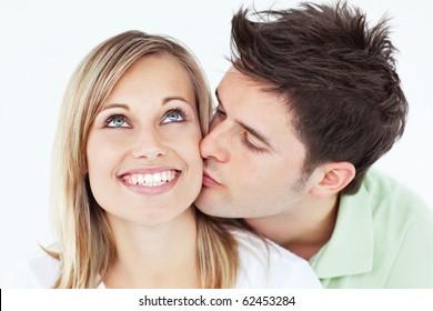Man kiss girl