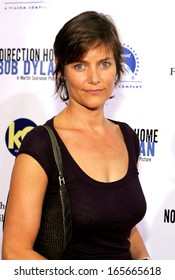Carey Lowell at No Direction Home Bob Dylan DVD Premiere, The Ziegfeld Theatre, New York, NY, September 19, 2005
