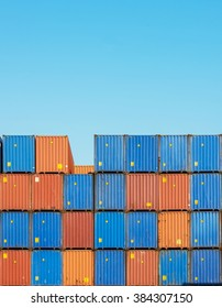 Cargo containers freight sea port Inland Container Depot