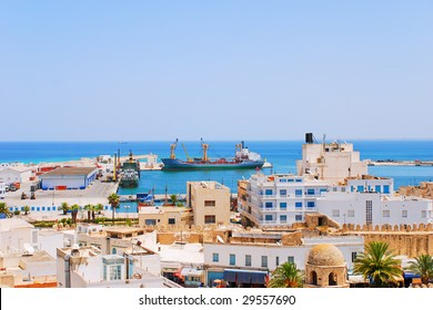 Cargo Seaport of Sousse, Tunisia