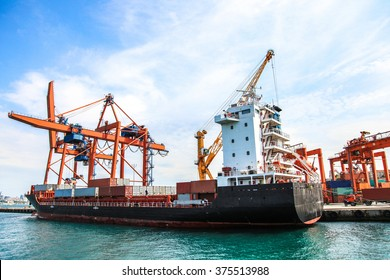 cargo ship, big ship, transportation ship