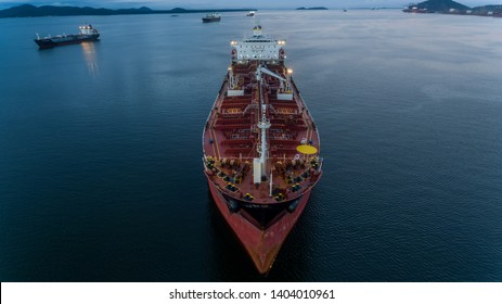 cargo ship in the port waiting to be loaded, in the bay of Brazil in the state of parana in paranagua, the largest port in the south of the country.