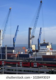 Cargo at the Shipping Port.