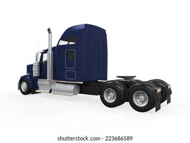 Cargo Truck Isolated