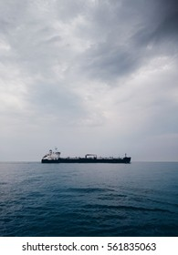 Cargo vessel overtaking. (I removed the name of the vessel, so it should be perfectly fine to be accepted now; the EyeEm Market did; please, do not reject it.)