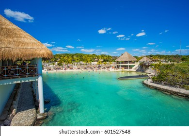 Caribbean beach in Mexico