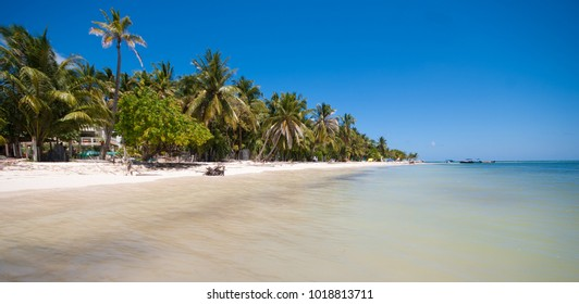 Caribbean beach in San Andres Island, Colombia