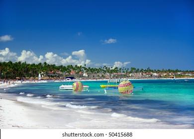 Caribbean coastline , Punta Cana