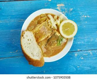 Caribbean Curry Fish ,  Trinidad and Guyana version