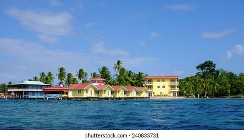 Caribbean resort on the Ocean