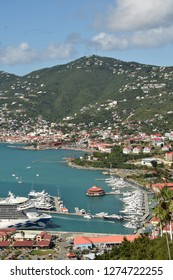 Caribbean scenery from the island of St Thomas, US Vorgin Islands