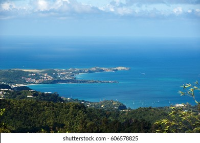 Caribbean sea - Grenada island - Saint George's - Grand Anse and Devils bay