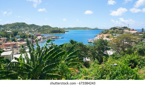 Caribbean sea - Grenada island - Saint George's - Inner harbor and Devils bay