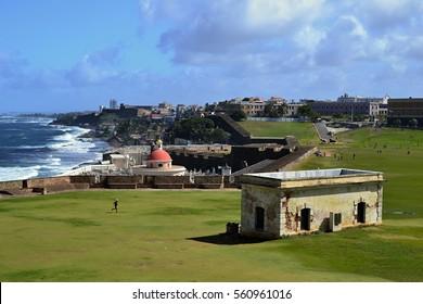 Caribbean seascape, San Juan, Puerto Rico