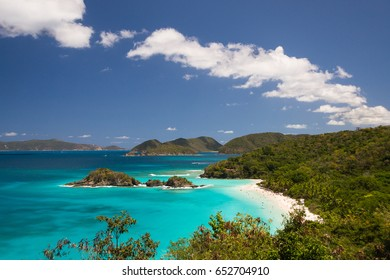 Caribbean Trunk Bay, Saint John Island (Virgin Islands)