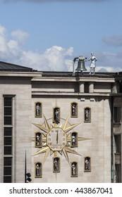 Carillon du Mont des Arts is a Carillion clock at Mont des Arts or Kunstberg, Brussels, Belgium