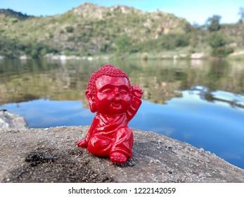 Carismatic and happy Budha