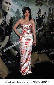 """Carla Gugino at the Los Angeles Premiere of """"Sucker Punch"""" held at the Grauman's Chinese Theater in Los Angeles, California, United States on March 23, 2011."""
