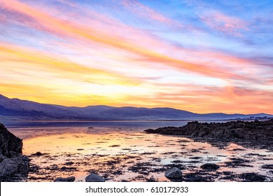 Carlingford Lough Sunset from Rostrevor, Warrenpoint, County Down.