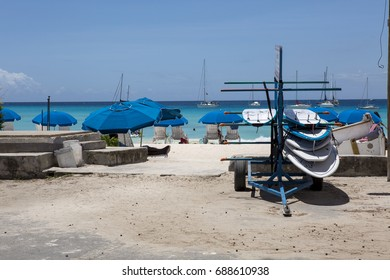 Carlisle Bay, Barbados. Just south of the capital of Barbados, Bridgetown, on the south east coast is the delightful Carlisle Bay where many water sports and general sun enjoyment occurs.