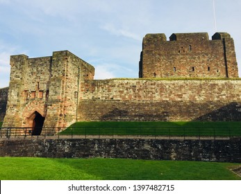Carlisle Castle in Cumbria, England
