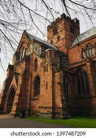 Carlisle Cathedral in Cumbria, England