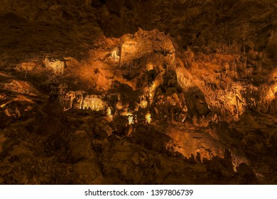 Carlsbad Cavern Cave formations and structures