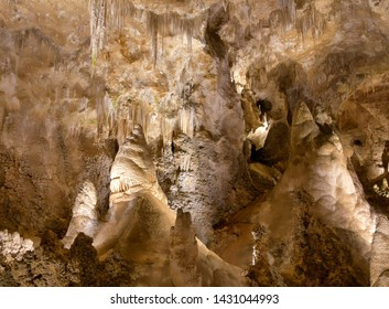Carlsbad Caverns - A limestone cavern known as the Carlsbad Cave, of extraordinary proportions and of unusual beauty and variety of natural decoration.