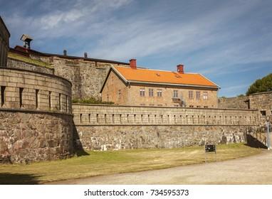 Carlsten fort on the island of Marstrand, Sweden.