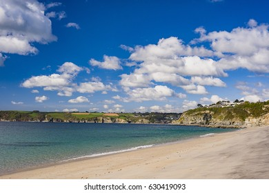 Carlyon Bay bathed in late morning sunlight in Mid April