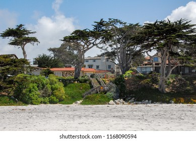 carmel california beach and homes