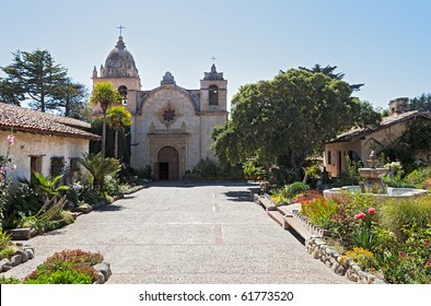 Carmel Mission, founded in 1770.