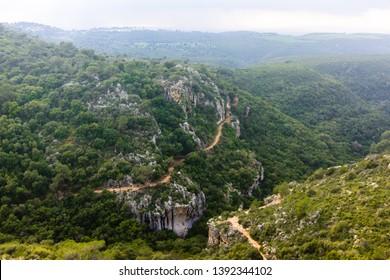 Carmel Mountains National Park in Haifa