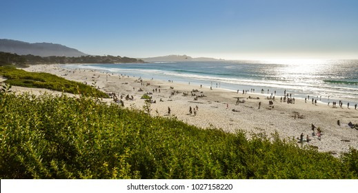 Carmel Sunset Beach - Carmel by the Sea, California