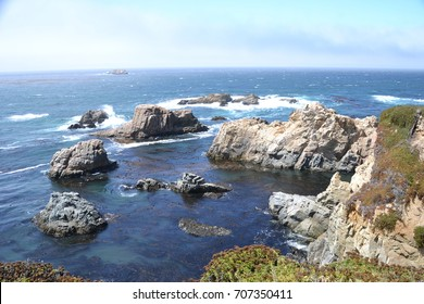 Carmel-by-the-Sea, is located along  California's Central coast (just south of Monterey on the peninsula)