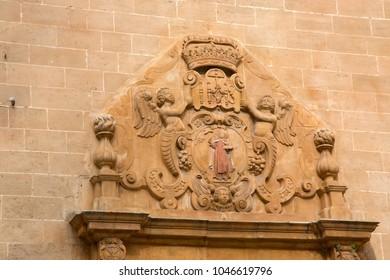 Carmelitas Descalzas Convent Church, Rambla Street, Palma, Majorca, Spain