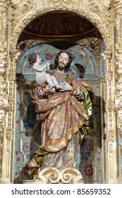 Carmen Church in Antequera, Andalusia, Spain