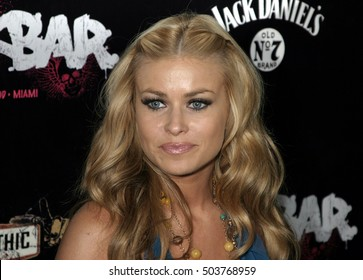 Carmen Electra at the Rokbar Hollywood Grand Opening Party held at the Rokbar in Hollywood, USA on June 30, 2005.