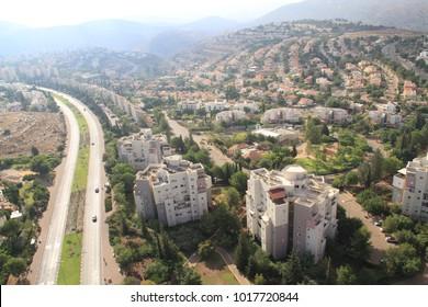 carmiel aerial view
