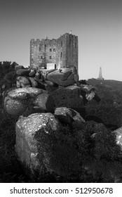 Carn brea hill castle